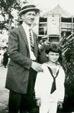 Leonard Weisgard with his father Samuel