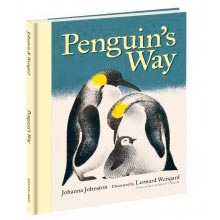 Penguin's Way by Johanna Johnston with illustrations by Leonard Weisgard